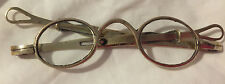 Antique Eye Glasses Vintage Magnifying Reading Spectacles Hoop Ear SIdes 1850