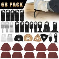 68x Oscillating Multi Tool Blades Kit For Fein Makita Bosch Milwaukee Multitool