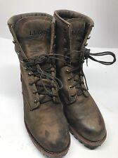 Llbean Chippewa Leather Boots Size  10.5