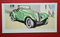 ALLARD SPORTS 2 SEATER    1939 Model   Original 1950's Vintage Colour Card