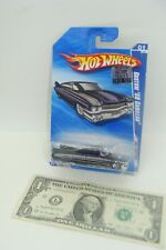 Hot Wheels Mainline 2010 HW Hot Auction Metallic Black Custom '59 Cadillac R7584