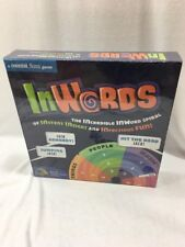 "BRAND NEW!! A Mental floss game ""IN WORDS"""