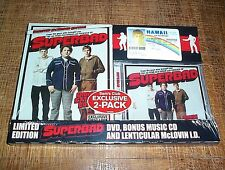 Superbad (DVD, Bonus CD; Unrated, Extended, Limited Edition) Fake ID  New Sealed
