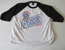 Obey Posse Men's 3/4 Raglan Sleeve Ringer T-Shirt XL