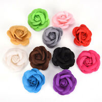 Camellia Flower Pin Brooches  Party Cloth Women Brooch Jewelry Accessories CA
