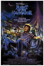FLIGHT OF THE NAVIGATOR Movie POSTER 27x40 Joey Cramer Veronica Cartwright Cliff