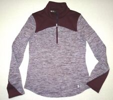Under Armour Womens UA Gamut 1/ Zip Hybrid Fleece Shirt Small $90
