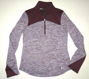 Under Armour Womens UA Gamut 1/ Zip Pullover Hybrid Fleece Shirt Small $90