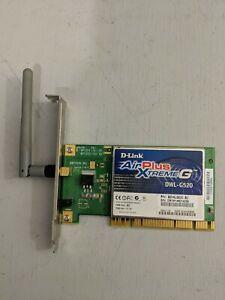 D-Link Air Plus Extreme G DWL-G520 Wireless Desktop PCI card