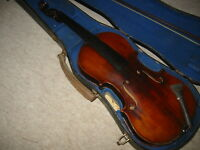Interesting, very old  violin Violon