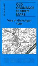 OLD ORDNANCE SURVEY MAP VALE OF GLAMORGAN COWBRIDGE PORTHCAWL BRIDGEND 1904