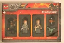 LEGO 5005255 JURASSIC WORLD Limited Edition Bricktober 2018 4 Minifigures Set