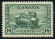 Canada SG 385 14c Dull Green Unmounted Mint