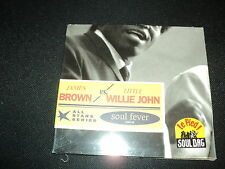 "CD DIG NF ""SOUL FEVER - SINGLES 1955-56"" James BROWN vs Little Willie JOHN"