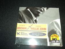 "CD DIG NF ""SOUL FEVER - SINGLES 1955-56"" James BROWN vs Little Willie JOHN"