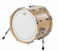 "Small Travel Bass Drum 12"" x 18"" Maple Finish - by Side Kick Drums"