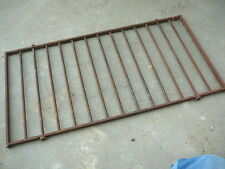 "ANTIQUE VINTAGE IRON WINDOW DOOR SECURITY BARS  27-3/4"" x 14-3/8"" - DECOR or USE"