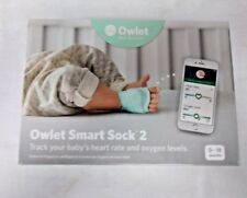 Owlet Smart Sock 2 Baby Monitor - New In Open Box