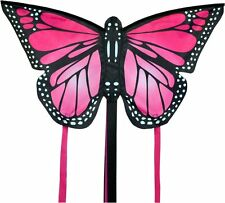 SMALL MONARCH BUTTERFLY KITE PINK- EASY TO FLY KIDS KITE SINGLE LINE