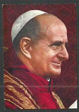 Postal del Papa Pablo VI andachtsbild santino holy card santini