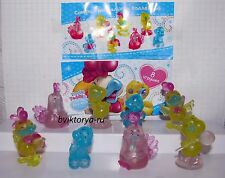 Rooster Chicken chick COLORFUL toys minifigures Tatty Teddy my Blue Nose Friends