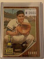 🔥 1962 TOPPS Baseball Card Set #218 🔥 Milwaukee Braves 🔥 JOE TORRE ROOKIE RC