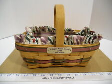 1995 Longaberger It Begins With A Dream Bee Basket Combo - Euc