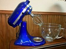KitchenAid KSM155GBUB Artisan Design Series with Glass Bowl, 5 quart