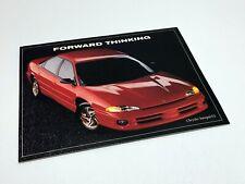 1993 Chrysler Intrepid ES Information Sheet Brochure