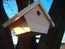 New ListingPine Wood Bird House Wren Chickadee Handmade Usa Gift