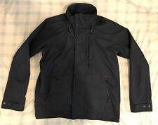 Crew Clothing No.93 Mens Jacket-Size Large-Navy-Hooded Sailing Jacket-Worn Once