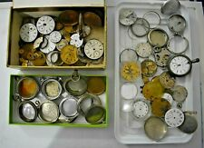 Vintage Pocket Watch Cases and Other Parts For Parts & Repair Part#1