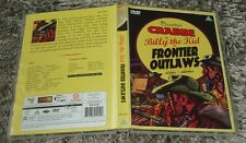Billy The Kid - Frontier Outlaws - Buster Crabbe  REGION FREE PAL DVD Western