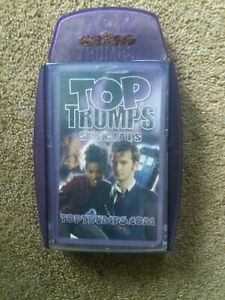 DOCTOR WHO Top Trumps Specials David Tennant Dr Who