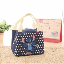 Women Kid Student Insulated Picnic Handbag Cute Cartoon Thermal Lunch Cooler Bag