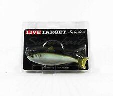 Live Target BBS140MS703 Swimbait Blueback Herring 5.5 Inch Green Bronze (0132)
