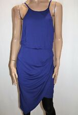 FORCAST Brand Blue Lucy Asymmetric Dress Size 12 BNWT #SC03
