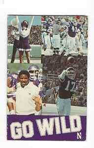 1983 Northwestern Wildcats Football Schedule DENNIS GREEN