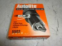 Lot of 4 Autolite 5503 Spark Plug