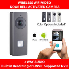 OEM Hikvision Doorbell Camera Intercom Wireless WIFI SD slot Record or ONVIF NVR
