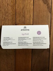 Arbonne Age Well Samples