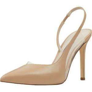 Nine West Womens Toffee Pointed Toe Slingback D'Orsay Heels Shoes BHFO 1622