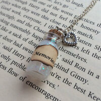 Memories - Dumbledore's , Snape's Bottle Necklace Pendant inspired by HP