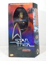 """STAR TREK LT COMMANDER DATA 12"""" INSURRECTION 1998 Playmates"""
