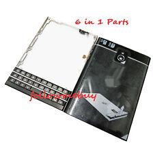 Set Full Complete Housing Shell Cover For BlackBerry Passport Q30 SQW100-1 Black