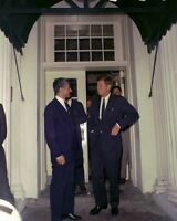 President John F Kennedy with Shah of Iran at arrival ceremony New 8x10 Photo