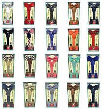 New Matching Wedding Suspender + Bowtie for Kids Toddler Boys Girls w/ Gift Box