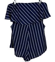 RUMOR BOUTIQUE | Strapless Summer Shorts Jumpsuit Playsuit | BNWT | Size 12