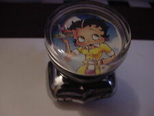 BETTY BOOP SEXY 1950S CARHOP WITH TRAY SKATES PANTS STEERING WHEEL KNOB--HOT ROD