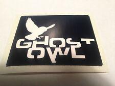 Ghost Owl original logo Sticker